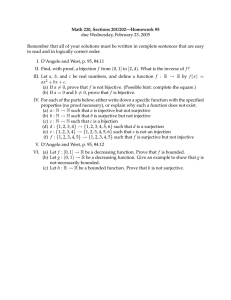 Math 220, Sections 201/202—Homework #5 due Wednesday, February 23, 2005
