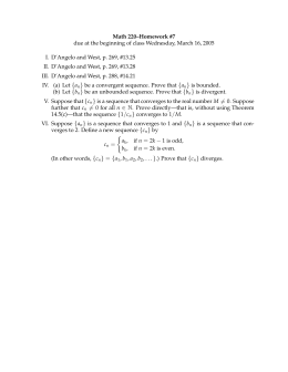 Math 220–Homework #7 I. D'Angelo and West, p. 269, #13.25