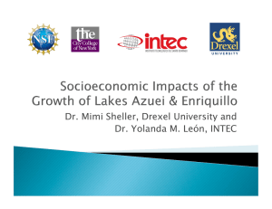 Dr. Mimi Sheller, Drexel University and Dr. Yolanda M. León, INTEC