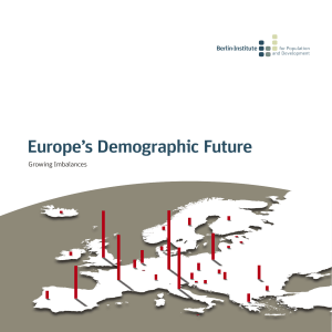 Europe's Demographic Future Growing Imbalances Berlin-Institute for Population