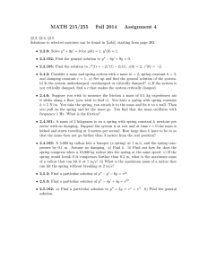 MATH 215/255 Fall 2014 Assignment 4