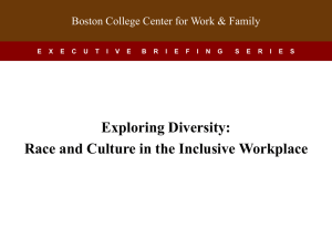 Boston College Center for Work & Family