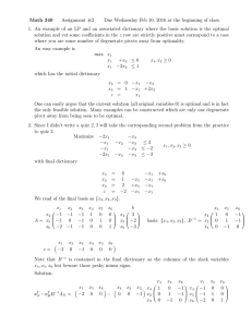Math 340 Assignment #2