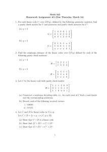 Math 342 Homework Assignment #5 (Due Thursday, March 24)
