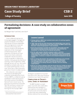 Case Study Brief CSB 2 of agreement