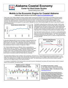 Alabama Coastal Economy Mobile is the Economic Engine for Coastal Alabama