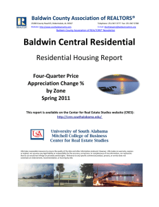 Baldwin Central Residential Residential Housing Report