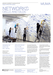 networks cells and silos Wednesday 16