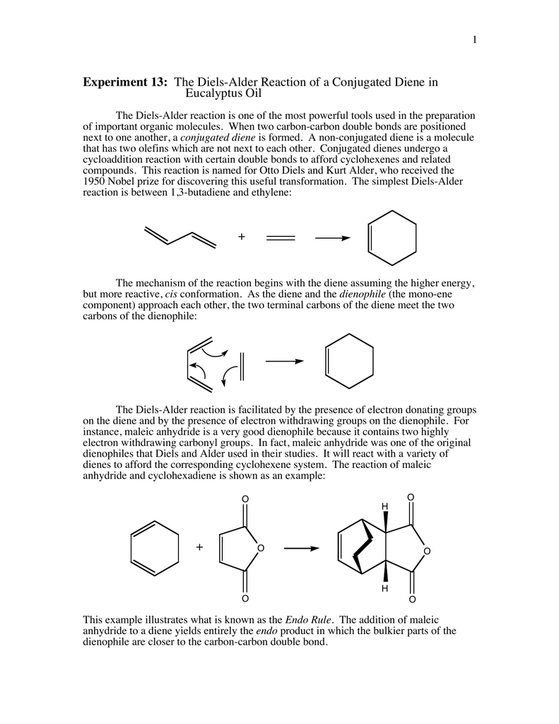 why is maleic anhydride a good dienophile