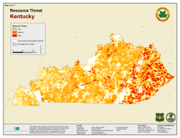 Kentucky Resource Threat Map 5 of 7 AZ