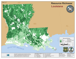 ³ Louisiana Resource Richness AR
