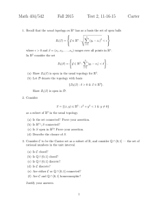 Math 434/542 Fall 2015 Test 2, 11-16-15 Carter