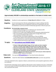 CLEVELAND STATE UNIVERSITY engaged learning'M