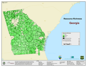 ³ Georgia Resource Richness Map 4 of 7