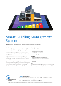 Smart Building Management System