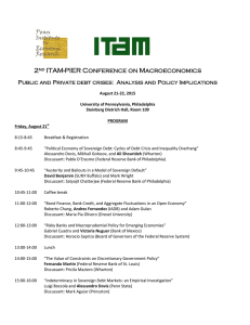 2 ITAM-PIER Conference on Macroeconomics