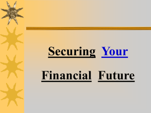 Securing Financial Future Your