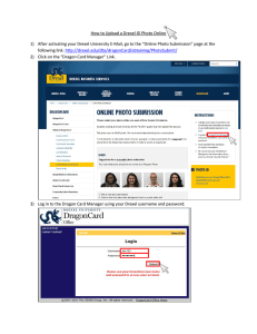How to Upload a Drexel ID Photo Online