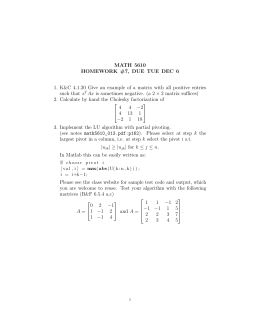 MATH 5610 HOMEWORK #7, DUE TUE DEC 6