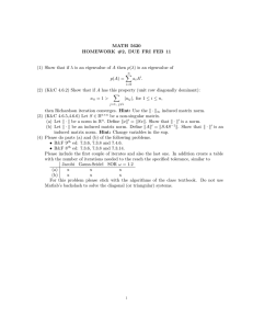 MATH 5620 HOMEWORK #2, DUE FRI FEB 11