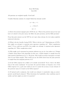 Econ 706 Prelim June 2011 All questions are weighted equally. Good luck!