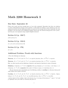 Math 2200 Homework 3 Due Date: September 25