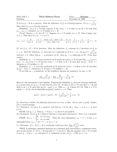 Math 3210 § 1. Third Midterm Exam Name: Solutions