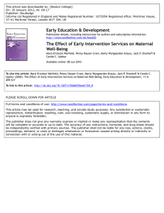 This article was downloaded by: [Boston College] Publisher: Routledge