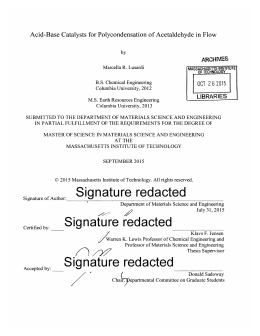 Signature  redacted ARCHVES LIBRARIES