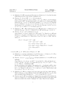 Math 3220 § 1. Second Midterm Exam Name: Solutions