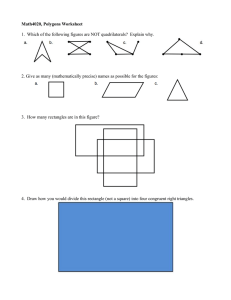 Math4020, Polygons Worksheet