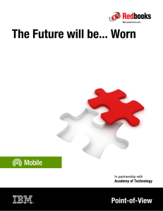 The Future will be... Worn Point-of-View ver Academy of Technology