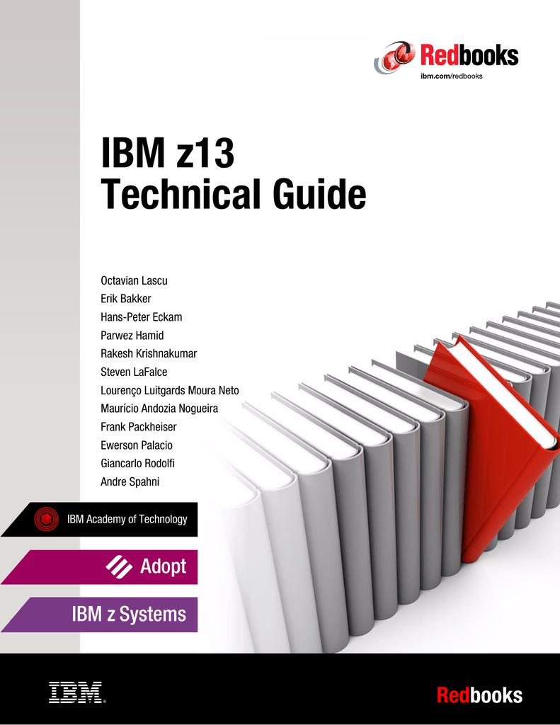 IBM z13 Technical Guide ver
