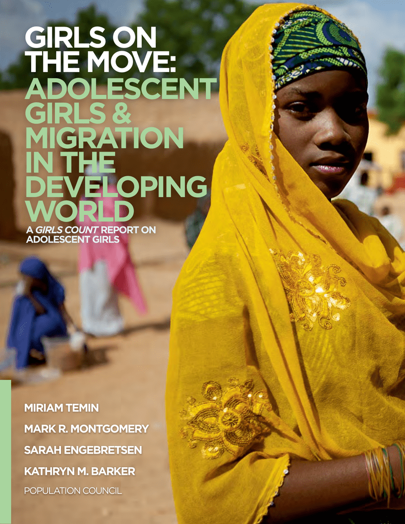 Girls on the Move: Adolescent Girls &
