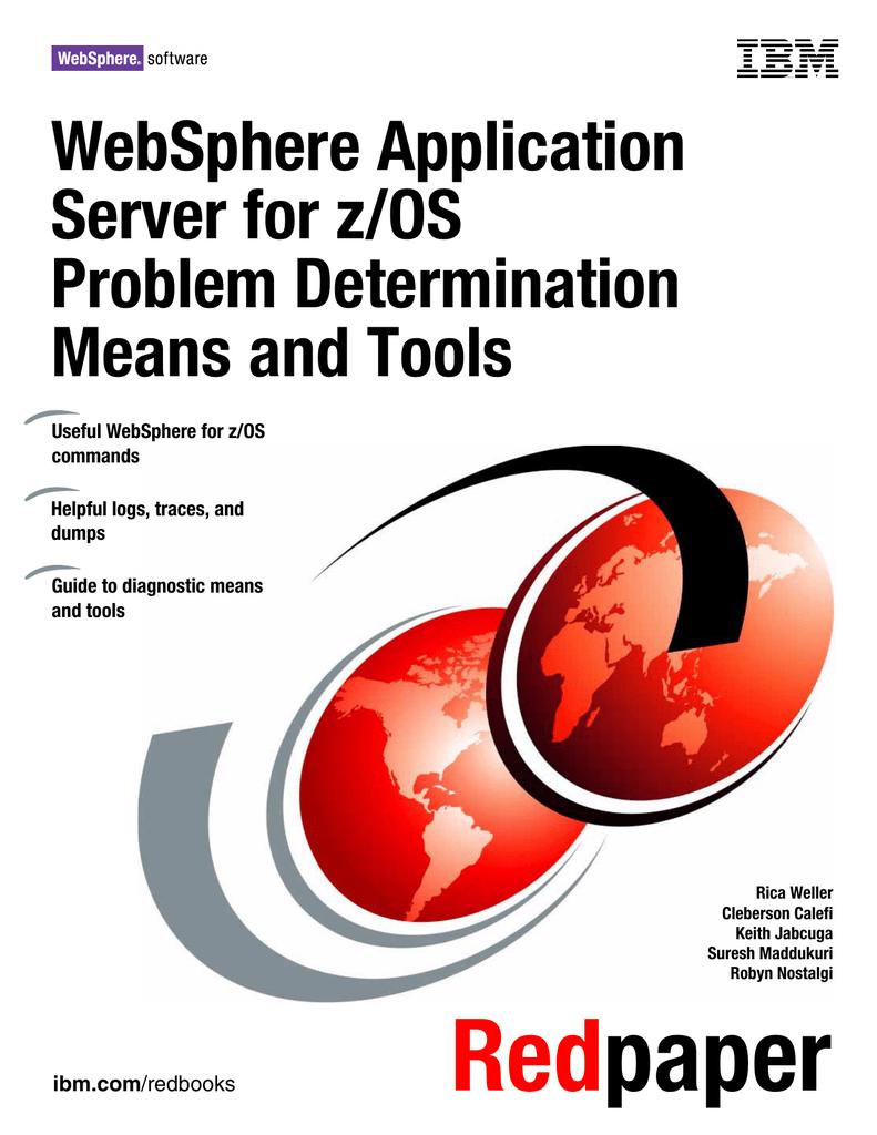 Red paper WebSphere Application Server for z/OS