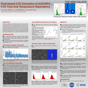Pixel-based CTE Correction of ACS CTE Time And Temperature Dependency
