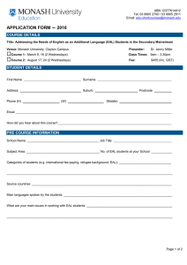 – APPLICATION FORM 2016