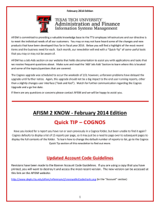 AFISM is committed to providing a valuable knowledge base to... February 2014 Edition