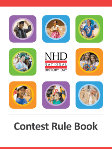 Contest Rule Book