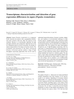 Populus Trichocarpa Classification Essay - image 3