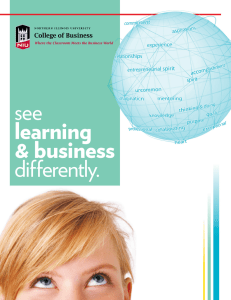 see differently. learning & business