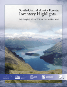 Inventory Highlights South-Central Alaska Forests: