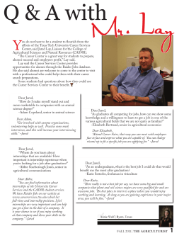 L Q & A with Mr. ay