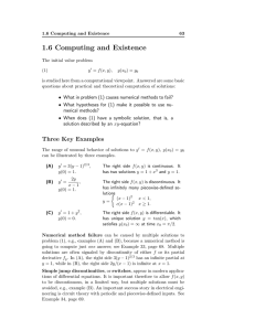 1.6 Computing and Existence