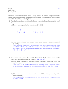 Quiz 3 Math 1040–1 June 15, 2012
