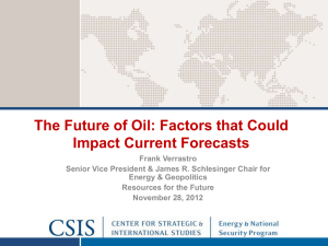 The Future of Oil: Factors that Could Impact Current Forecasts