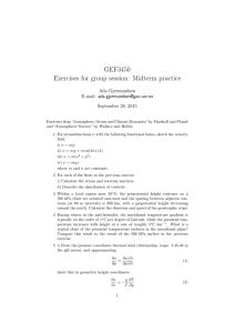 GEF3450 Exercises for group session: Midterm practice Ada Gjermundsen E-mail: