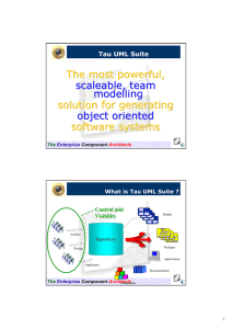 The most powerful, scaleable, team modelling solution for generating