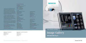 Local Contact Information In the USA Siemens Medical Solutions USA, Inc.
