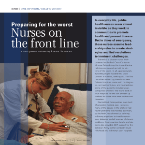Nurses on Preparing for the worst